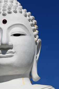 Free Half Of A Buddha S Face Royalty Free Stock Images - 19439729
