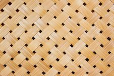 Free Woven Bamboo Pattern Stock Images - 19439884