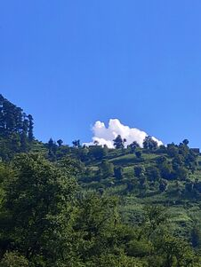 Free Himachal Pradesh Beautiful Village  Sun Green Sky Royalty Free Stock Photography - 194348517