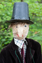 Free Scarecrow Portrait (face On) Royalty Free Stock Images - 19448459