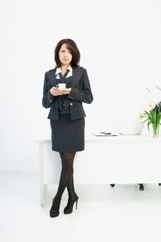 Free Businesswoman In The Workplace Royalty Free Stock Image - 19440056