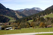 Village In Austria Stock Photos