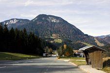 Village In Austria Royalty Free Stock Photo