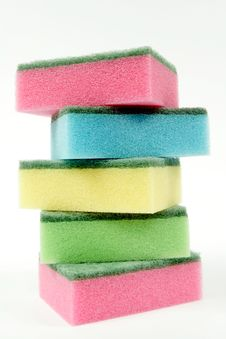 Free Colorful Sponges Stock Images - 19440274