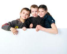 Free Two Smily Kids Stock Photos - 19440983