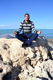 Free Arab Man Meditation Royalty Free Stock Photography - 19441417