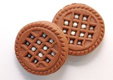Free Brown Sweet Cookies Royalty Free Stock Image - 19442586