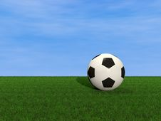 Free Soccer Ball Stock Image - 19442851