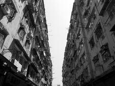 Kowloon City Royalty Free Stock Photography