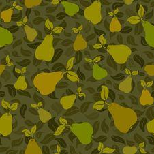 Free Pear Seamless Background Stock Photo - 19444590
