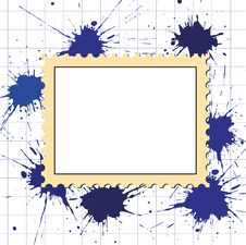 Free Vector Postage Stamps Frame Pattern Stock Images - 19444594