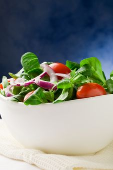 Free Mixed Salad Royalty Free Stock Photography - 19445047