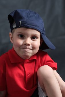 Free Portrait Of The Boy Royalty Free Stock Photography - 19445227