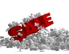 Sale Symbol Stock Photo