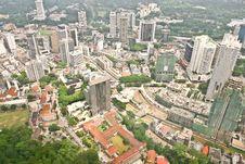 Free Kuala Lumpur Skyline Stock Image - 19446481