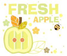 Free Fresh Apple Royalty Free Stock Image - 19447056