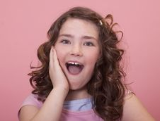 Free Excited Expression Stock Photography - 19447712