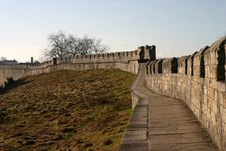 Free City Walls Of York Royalty Free Stock Image - 19447746