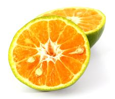 Free Green Sweet Orange Stock Photo - 19448260