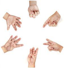Free Baby S Hand Stock Photo - 19448320