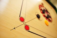 Free Carrom Board Royalty Free Stock Photos - 19448948