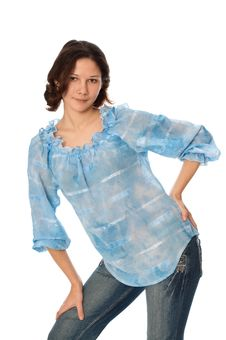 Free Woman In Jeans Stock Photography - 19449482