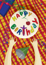 Free Poster Happy Birthday Stock Photo - 19450820
