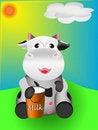 Free Cow And Milk Stock Photos - 19455013