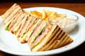 Free Sandwich On A Plate Stock Photos - 19458223
