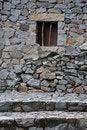 Free Small Window On Stone Wall Royalty Free Stock Photo - 19459715