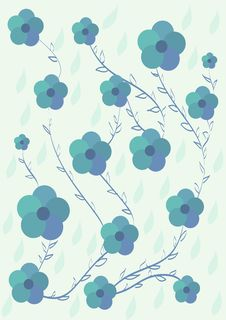 Free Floral Pattern Royalty Free Stock Image - 19450026