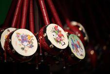 Free Chinese Drum Royalty Free Stock Photo - 19450065