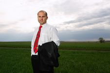 Free Businessmen And Nature Stock Photos - 19450093