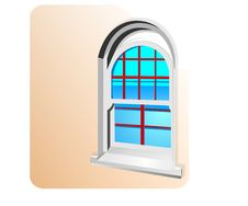 Free Classic Window, Cdr Vector Royalty Free Stock Images - 19450399