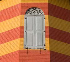 Free Window On Brick Wall Royalty Free Stock Photos - 19450418