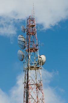 Free Telecommunication Mast Royalty Free Stock Images - 19450539