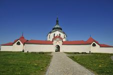 Free Church Of St. John Of Nepomuk Royalty Free Stock Photo - 19450865