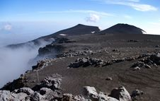 Free Panoramic View From Mount Etna Stock Image - 19450941