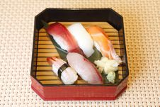 Free Japanese Sushi Royalty Free Stock Image - 19451036