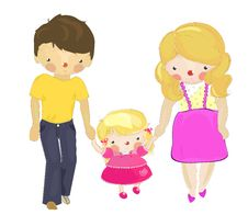 Free A Happy Family Of Three Royalty Free Stock Images - 19451169
