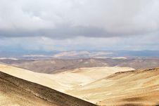 Free Desert Negev Royalty Free Stock Image - 19451396