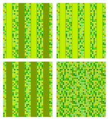 Free Green Mosaic  Background Royalty Free Stock Photography - 19451627