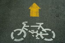 Free Bicycle Sign Stock Photos - 19453363