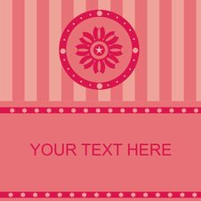 Free Cute Floral Frame Royalty Free Stock Image - 19453936