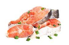 Free Raw Salmon Royalty Free Stock Photos - 19454408