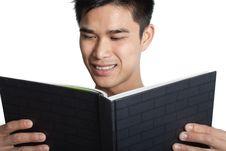 Free Man Reading Book Stock Photos - 19455533