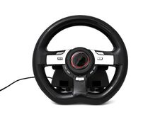 Free Game Steering Wheel Royalty Free Stock Photography - 19456097