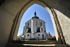 Free Church Of St. John Of Nepomuk Royalty Free Stock Photo - 19456595