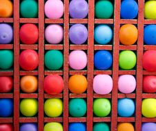 Colorful Balloons As Targets. Stock Images