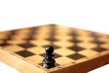 Free One Pawn Royalty Free Stock Photo - 19458655